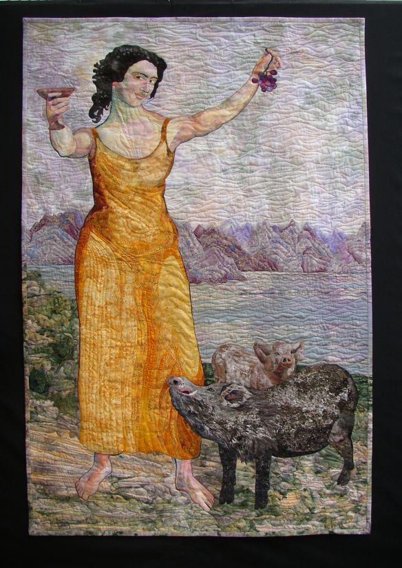 Circe quilt by Marilyn Belford